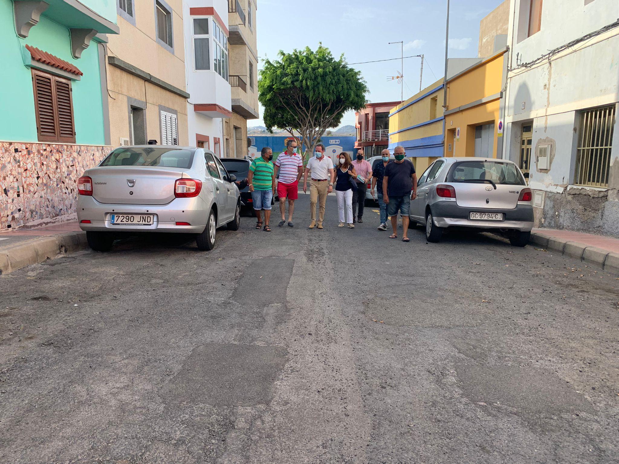 La alcaldesa de Telde visita barrio de El Ejido / CanariaNoticias.es