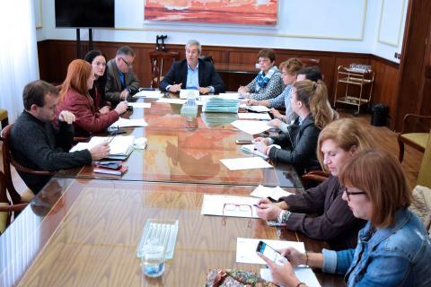 Reunión del Consejo Rector del IMAS
