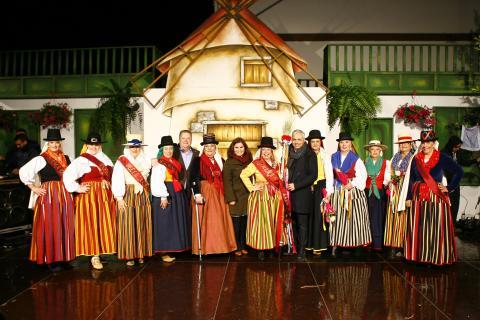 Gala de la Fiestas patronales de San José  en Candelaria