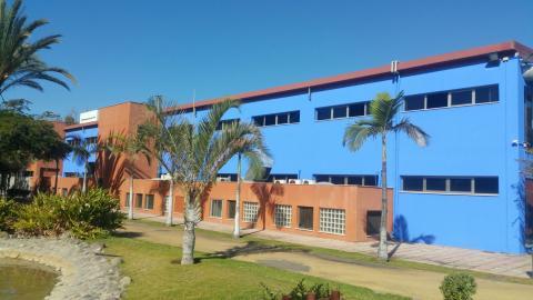 Instalaciones deportivas el Complejo David Jiménez Silva de Mogán