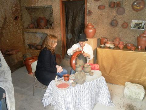 Centro de alfarería en La Atalaya de Santa Brígida