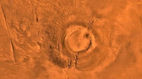 Volcán de MArte