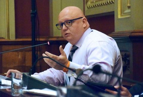 Carlos Correas, concejal de Sanidad y Medio Ambiente del Ayuntamiento de Santa Cruz de Tenerife,