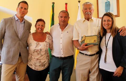 Premio por 25 años de fidelidad a Caleta de Fuste en Fuerteventura
