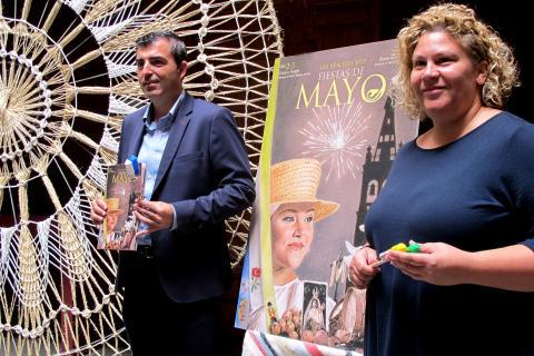 El Alcalde de Los Realejos, Manuel Domínguez en la presentación de las Fiestas de Mayo 2017