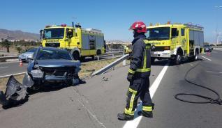 Accidente en la GC-1