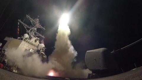 Bombardeo de EEUU a Siria