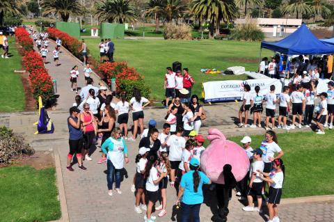 Carrera Solidaria Colegio Arenas en San Bartolomé de Tirajana