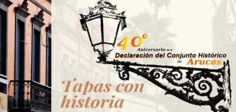 Cartel del Concurso de Tapas con historia de Arucas