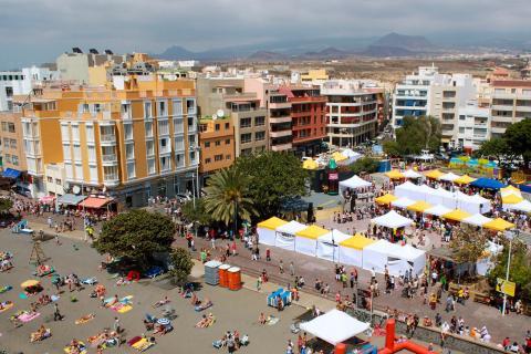 Feria del Saldo del Médano en Granadilla de Abona