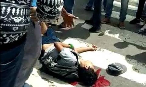 Muerto en manifestación de Caracas