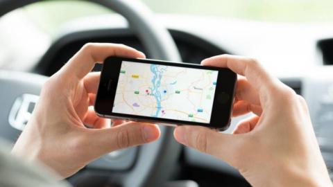 Teléfono con Google Maps