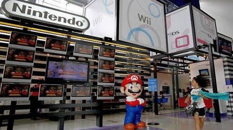 Stand de la empresa Nintendo