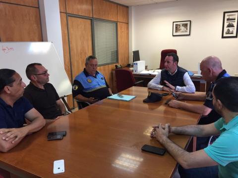 Reunión de Limpieza con la Policía Local de Telde