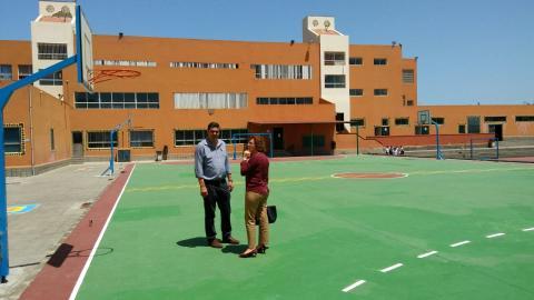 Visita al CEIP Juan Negrín
