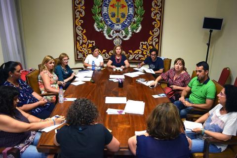 Reunión del Consejo Municipal de la Mujer de Santa Cruz de Tenerife