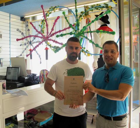 Primer Premio del Concurso de Escaparates de Los Realejos