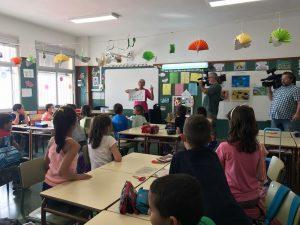 Alumnos participantes en la Gota Maravillosa de La Gomera
