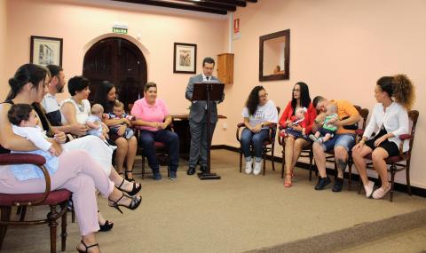 Bienvenida a los recién nacido en Arucas