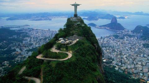 Vistas de Rio de Janeiro, Brasil