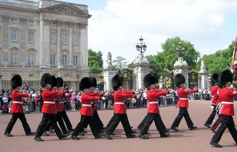 Cambio de la guardia en Londres