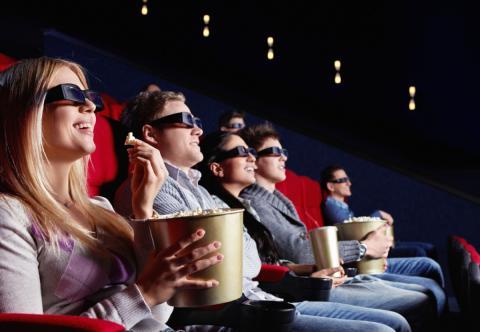 Espectadores en el cine