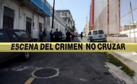 Banda de la policía de escena del crimen
