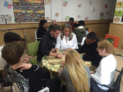Encuentro intergeneracional del Proyecto Brújula