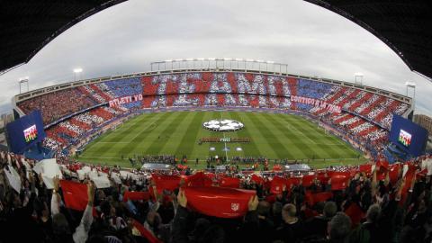 Vistas del Estadio Vicente Calderón