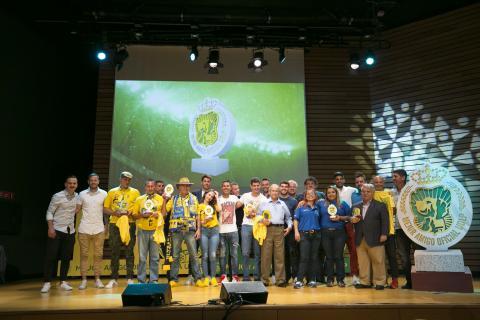 Ganadores de los Premios Mejor Amigo de la UD Las Palmas