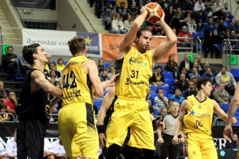 Jugadores de baloncesto del Iberostar Tenerife