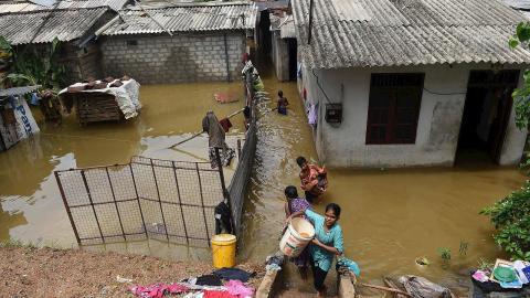 Inundaciones Sri Lanka