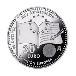 Moneda de 30 euros, conmemorativa de la Firma del Tratado de la UE