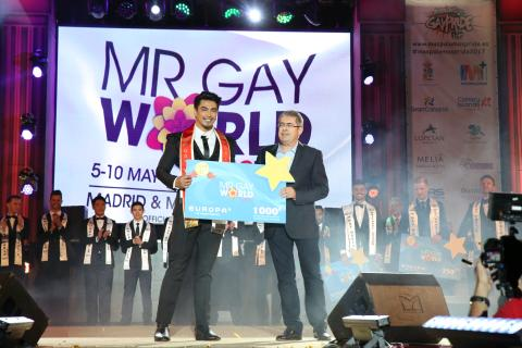 Ganador Mr. Gay Wiorld 2017