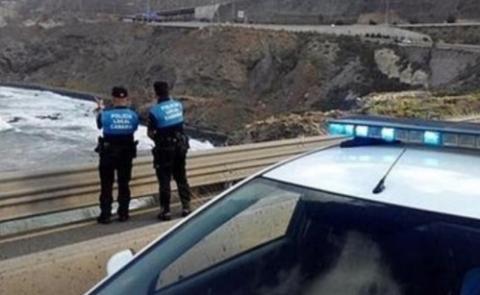 Dos Policías Locales de Las Palmas de Gran Canaria