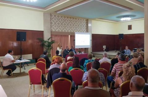 Reunión informativa de Participación Ciudadana en Granadolla de Abona