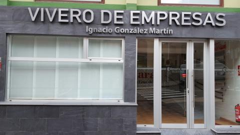 Fachada del Vivero de Empresa Ignacio González