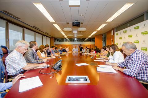 Reunión de la Mesa de Accesibilidad de Santa Cruz de Tenerife