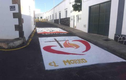 Alfombras de Sal en San Bartolomé