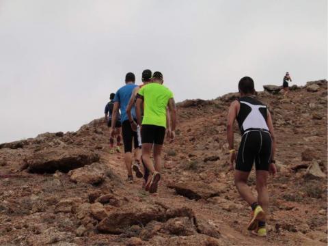 Corredores en el Trail La Vegueta Piel de Toro