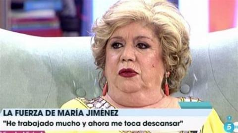 María Jiménez en Telecinco