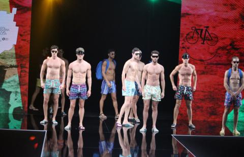 Modelos en la Semana de la Moda de Baño de Gran Canaria