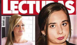 Andrea Janeiro en la portada de la revista Lecturas