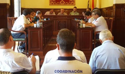 Reunión de seguridad de El Pino 2017 en Teror