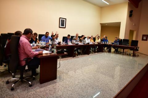 Pleno del Ayuntamiento de Tuineje