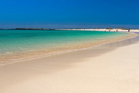 Una playa de Fuerteventura