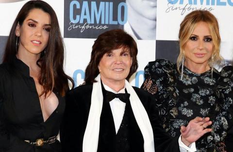 Camilo Sesto, Marta Sánchez y Mónica Naranjo,
