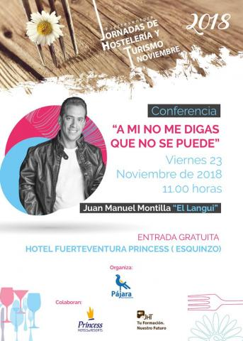 Cartel Conferencia El Langui
