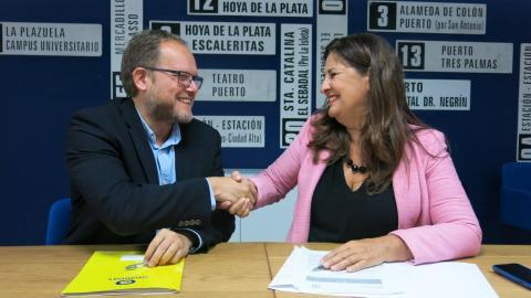 Belén Allende y José Eduardo Ramírez