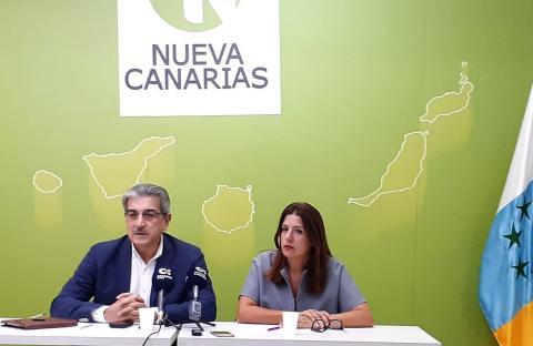 Román Rodríguez y Carmen Hernández